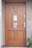 Producent zewnętrznych drzwi drewnianych